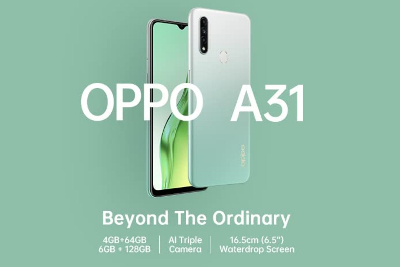 Oppo A31 6GB RAM price comparison in India , specifications , features 2020